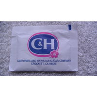 Пакетик сахара, Американский C g H. распродажа