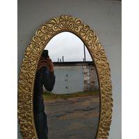 Зеркало в алюминиевой раме