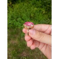 Кольцо с камнем советского образца