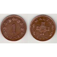 Мальта _km8 1 цент 1977 год (f07)