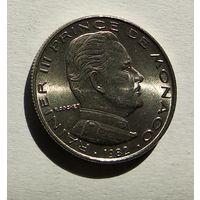Монако 1/2 франка, 1982 5-1-60