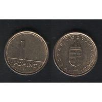 Венгрия km692 1 форинт 1992 год (f51)(ks00)