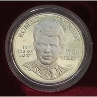 США 1 доллар 1998 S. Р. Кеннеди. Пруф. Редкость.