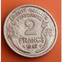 101-10 Франция, 2 франка 1947 г.