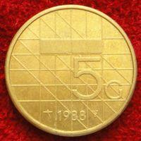 7867:  5 гульденов 1988 Нидерланды