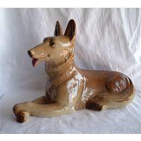 Собака 40х25 см Сен-Клеман Saint-Clement Франция