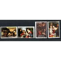 Гайана - 1988 - Искусство - [Mi. 2410-2413] - полная серия - 4 марки. Гашеные.