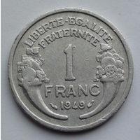 Франция 1 франк. 1949