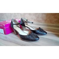 Туфли женские 37р. нат.кожа