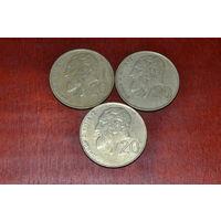 Кипр 20 центов (91,92,94)