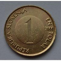 Словения 1 толар, 2000 г.