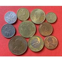 10 монет из 10 стран - 10