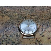 Часы Poljot de luxe,позолота au20,редкие.Старт с рубля.