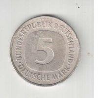 5 марок 1975 года (D) Германии