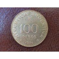 100 песо 1979 Аргентина ( не магнит )