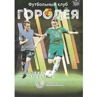 2018 Городея (буклет)