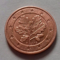 2 евроцента, Германия 2015 F, UNC