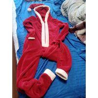 Новогодний костюм пижама санта клаус кигуруми