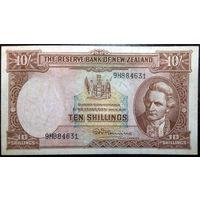 Новая Зеландия, 10 шиллингов 1940-55 год, Р158