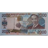 Сьерра Леоне 2000 леоне 2006 г. (g)