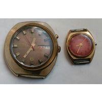 Позолоченные часы из СССР. С 1 рубля! Без МПЦ!