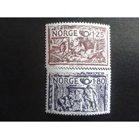 Норвегия 1980 NORDEN, 18 век полная