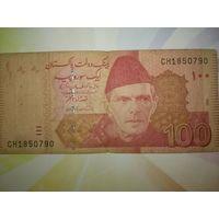 Пакистан 100рупий 2008г.