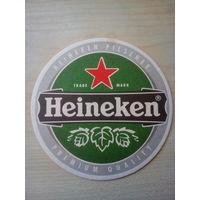Бирдекель (подставка под пиво) Heineken/Нидерланды