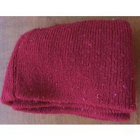 Новая детская блестящая светящая с фиолетово-красным отливом красная вязаная шерстяная кашемировская осенне-зимняя шапка с цветным красивым детским годичным рисунком для мальчика от 16 до 21 года