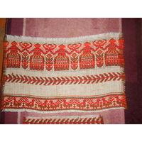 Старинные  тканые вышивки накидки рушники