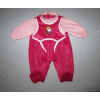 Велюровый комбезик, ползуны, боди (одежка для новорожденных,  в т.ч. для маловесных и недоношенных деток)