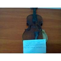 Скрипка старая Чехословакия.
