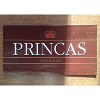 Обёртка от шоколада PRINCAS