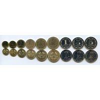 Таджикистан набор 9 монет 2019 UNC