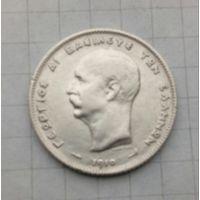 Греция 1 драхма 1910г Георгий 1 Серебро 0,835