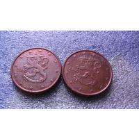 Финляндия 5 евроцентов 2000г. распродажа