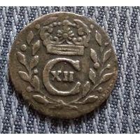 Швеция 1 эре (оре) 1716 Карл XII