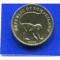 Сомалиленд 10 шиллингов 2002 UNC