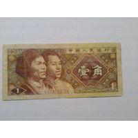 Китай 1 цзяо 1980