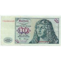Германия (ФРГ), 10 марок 1980 год.