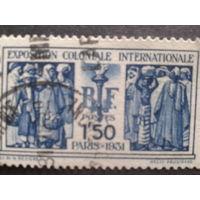 Франция 1931 для французских колоний