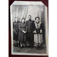 Фото с военным. 8х11 см.