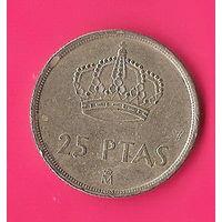 41-45 Испания, 25 песет 1982 г.