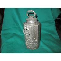 Сосуд,фляжка,фляга для воды,вина ,средина 17 века