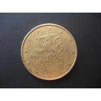50 евроцентов Финляндия 2008