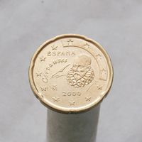 Испания 20 евроцентов 2000