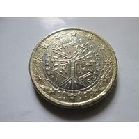 1 евро, Франция 2001 г.