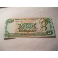 Никарагуа 10 кордоба 1985