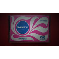 АУДИОКАССЕТА SANYO 1972-74 год выпуска EUR, ВОЗМОЖЕН ОБМЕН на другие аудиокассеты. РЕДКАЯ,