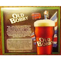 Наклейка пивная Old Bobby